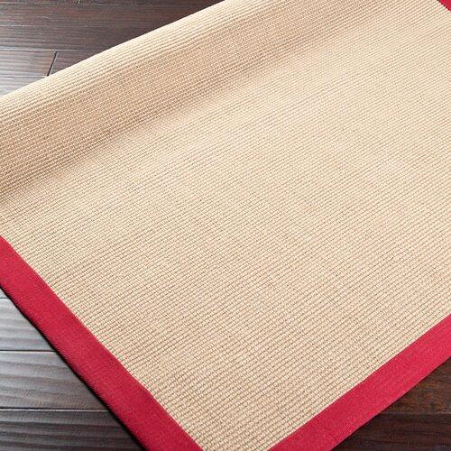 Surya Soho Beige/Red Rug