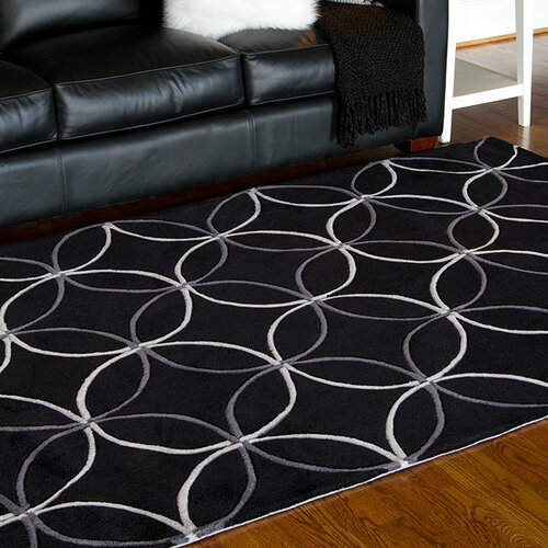 Surya Sawyer Black Area Rug Amp Reviews Wayfair