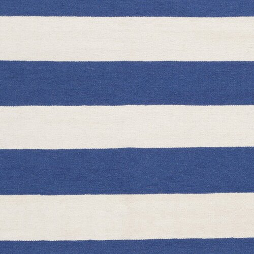 Surya Frontier Blue Corn/White Rug