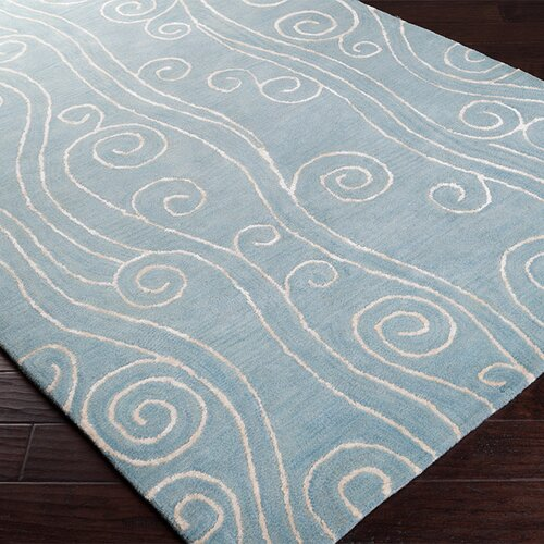 Surya Escape White/Powder Blue Rug
