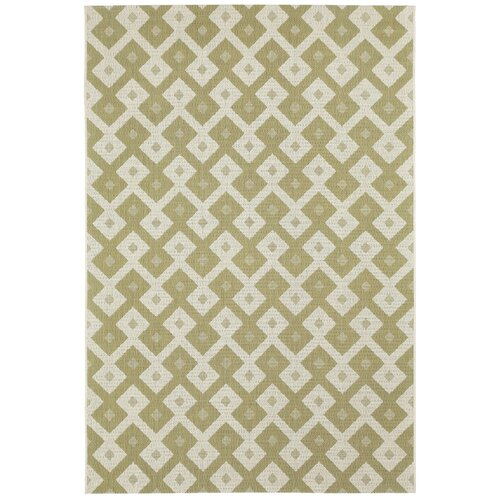 Elsinore Pistachio Diamond Indoor/Outdoor Rug