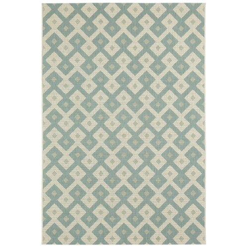 Elsinore Resort Blue Diamond Indoor/Outdoor Rug