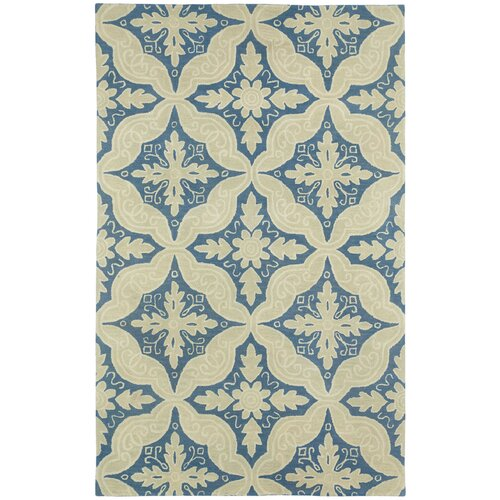 Williamsburg Medium Blue Ben Medallion Rug