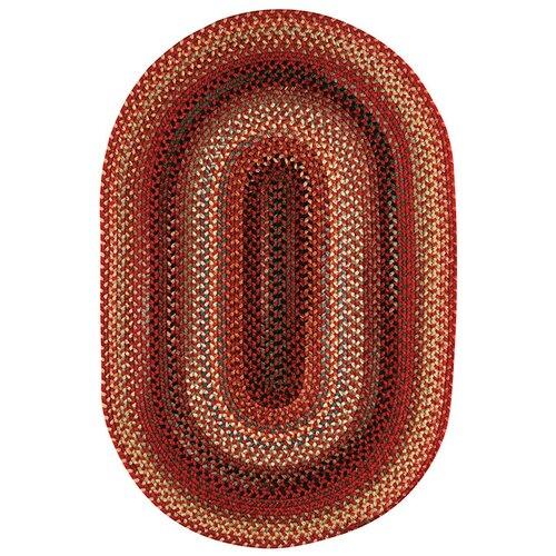Portland Red Multi Rug