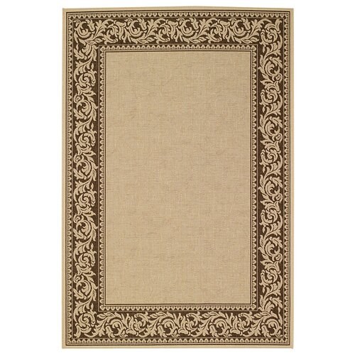 Elsinore Scroll Cocoa Bean Indoor/Outdoor Rug