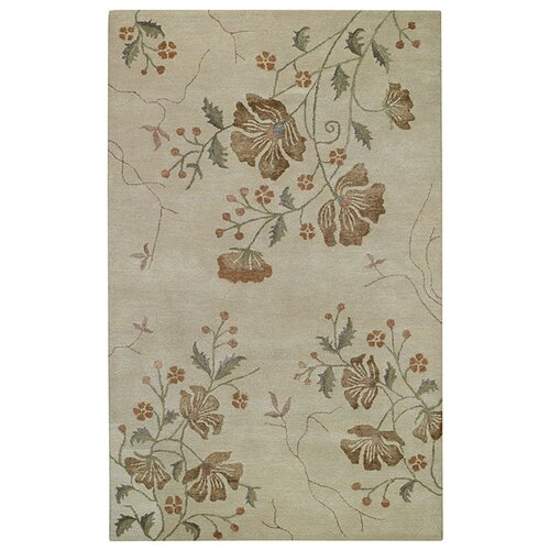 Capel Rugs Brock Haven Orchids Cream Rug