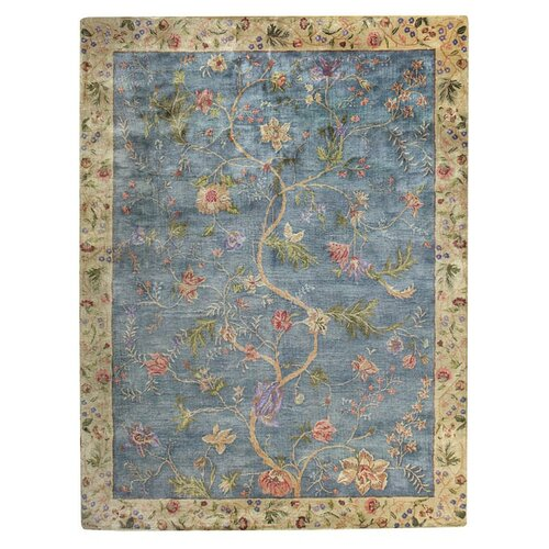 Capel Rugs Garden Farms Blue Rug