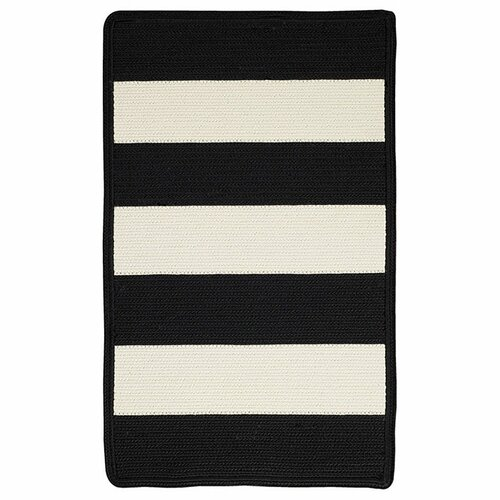 Capel Rugs Willoughby Black/White Indoor/Outdoor Rug