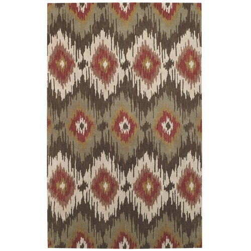 Capel Rugs Rally Green Olive Rug