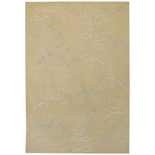 Capel Rugs Walkover Ecru Leaf Indoor/Outdoor Rug