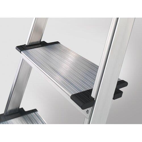 alu sicherheits haushaltsleiter xxr mit 3 xxl alu stufen. Black Bedroom Furniture Sets. Home Design Ideas