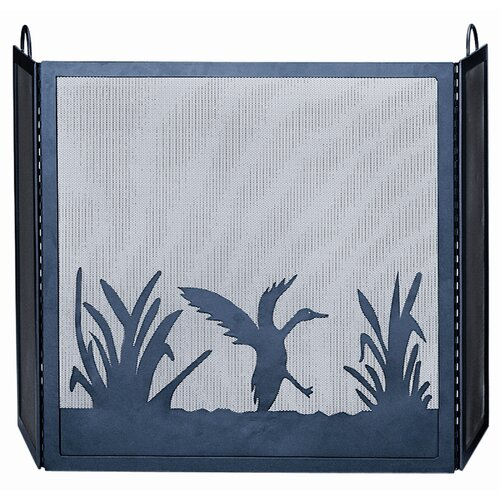 3 Fold Screen with Duck