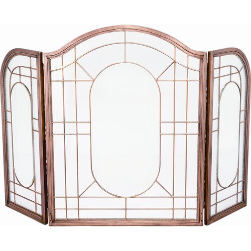 3 Fold Copper Glass Screen
