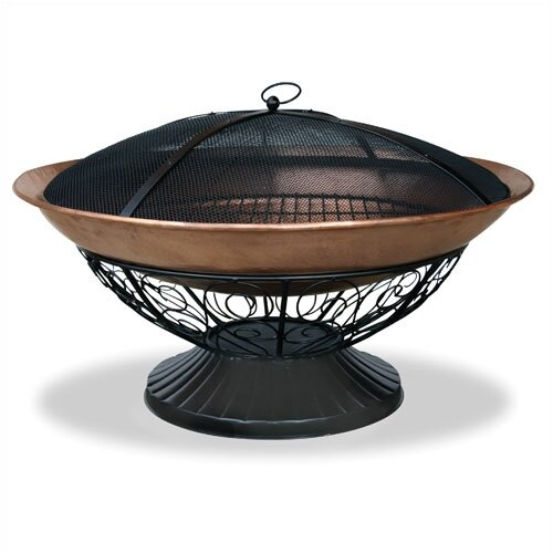 Copper/Wrought Iron Fire Pit