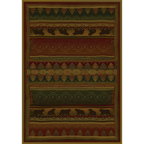 Genesis Bearwalk Lodge Novelty Rug