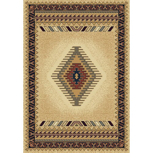 United Weavers of America Manhattan Tucson Cream Rug