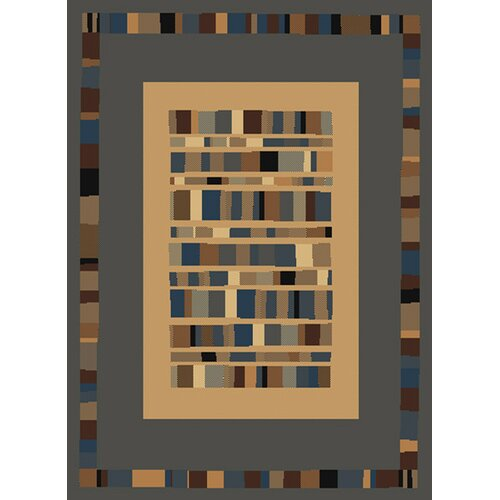 United Weavers of America Manhattan Ellis Grey/Blue Rug