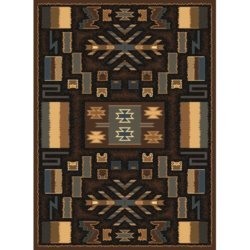 United Weavers of America Manhattan Pelham Brown Rug
