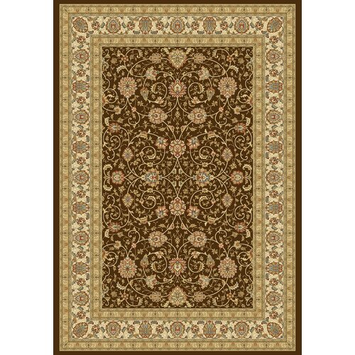 Dynamic Rugs Ancient Garden Chocolate/Ivory Rug
