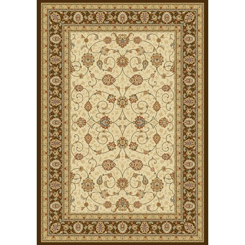 Dynamic Rugs Ancient Garden Ivory/Chocolate Rug