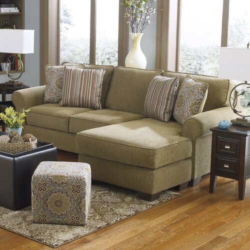 Corridon chaise sofa wayfair for Benchcraft chaise lounge