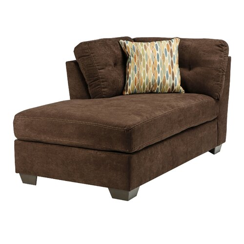 benchcraft delta city left chaise lounge reviews wayfair