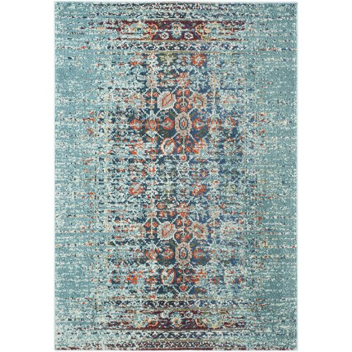 Mercury Row Icy Blue Area Rug Amp Reviews Wayfair