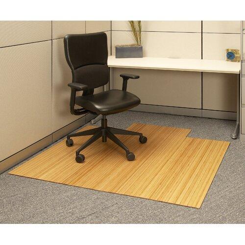 Anji Mountain Standard Bamboo Office Chair Mat
