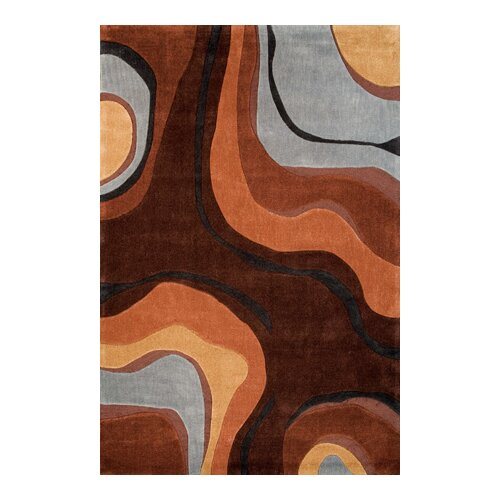 Foreign Accents Festival Brown/Earth Rug