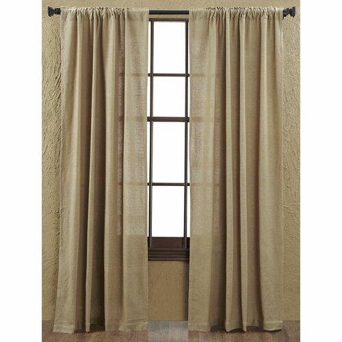 VHC Brands Burlap Curtain Panel amp Reviews Wayfair : Burlap Curtain Panel 6165 from www.wayfair.com size 500 x 500 jpeg 53kB