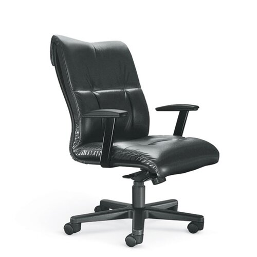 Orians Modern Mid-Back Office Chair with Arms