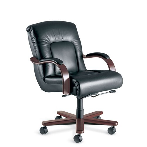 La-Z-Boy Sintas Mid-Back Office Chair with Arms