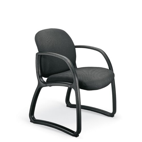 Durable Guest Chair with Low-Back