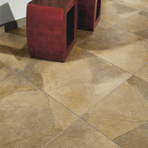 classic standard 18 x 18 porcelain glazed floor tile in