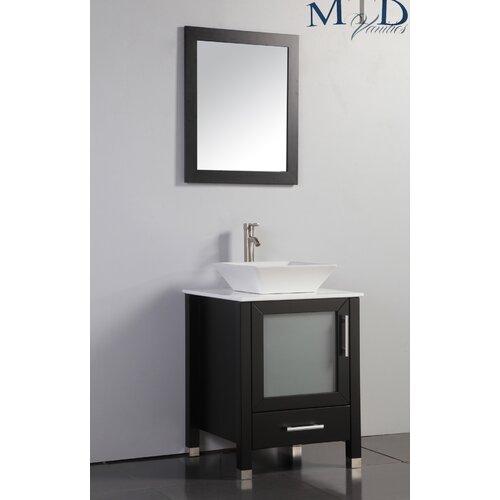 Bathroom Sink And Mirror : MTD Vanities Malta 24
