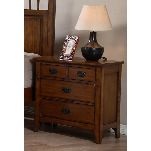 Tremont 4 Drawer Nightstand