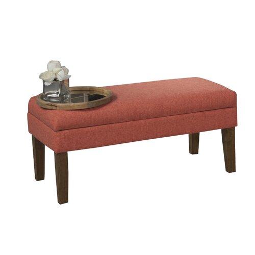 Homepop Decorative Storage Bench Reviews Wayfair Supply