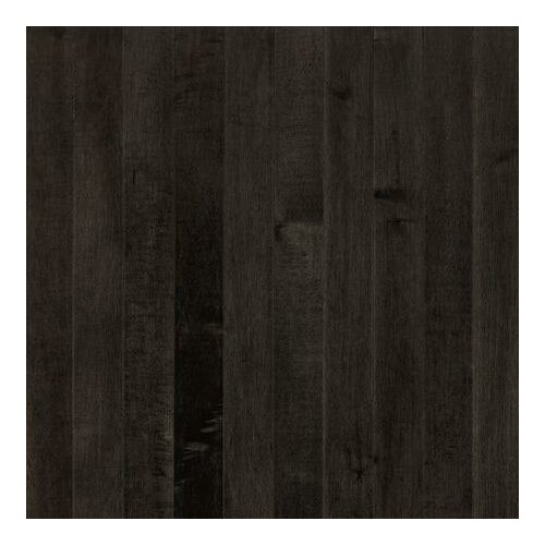 """Armstrong Sugar Creek Plank 3-1/4"""" Solid Maple Flooring in Midnight"""