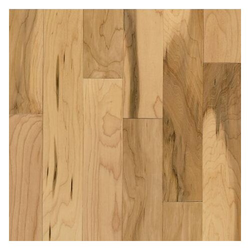"Armstrong Sugar Creek Plank 3-1/4"" Solid Maple Flooring in Country Natural"