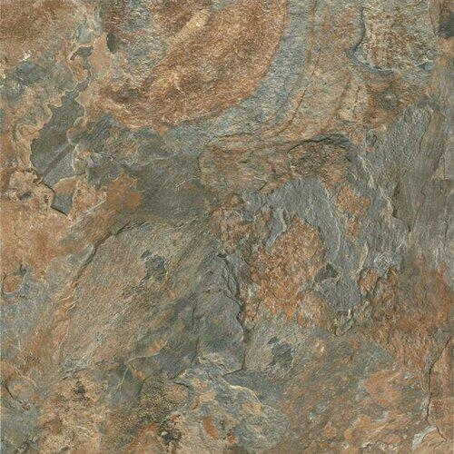 """Armstrong Alterna Mesa Stone 16"""" x 16"""" Vinyl Tile in Canyon Sun"""
