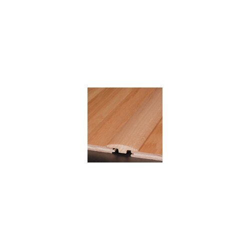 """Armstrong 0.25"""" x 2"""" Hickory T-Molding in Persian Brown"""