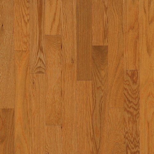 """Armstrong Yorkshire Plank 3-1/4"""" Solid White Oak Flooring in Canyon"""