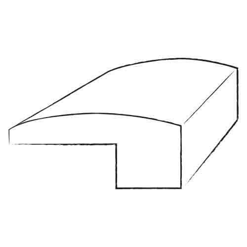 """Bruce Flooring 0.62"""" x 2"""" Birch Threshold in Gunstock (Derby)"""