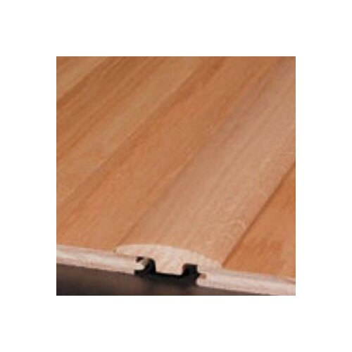 "Bruce Flooring 0.25"" x 2"" Red Oak T-Molding in Ivory White"