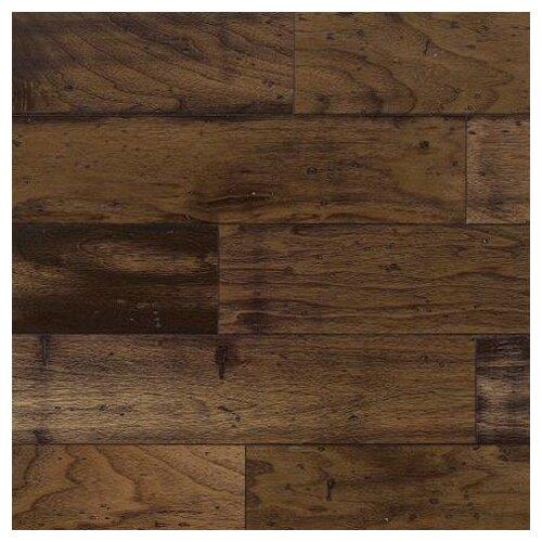 "Bruce Flooring American Vintage Lock and Fold 5"" Engineered Walnut Flooring in Chickory"