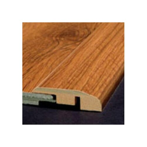 Bruce Flooring Laminate Reducer Strip with Track in Brazilian Cherry Natural