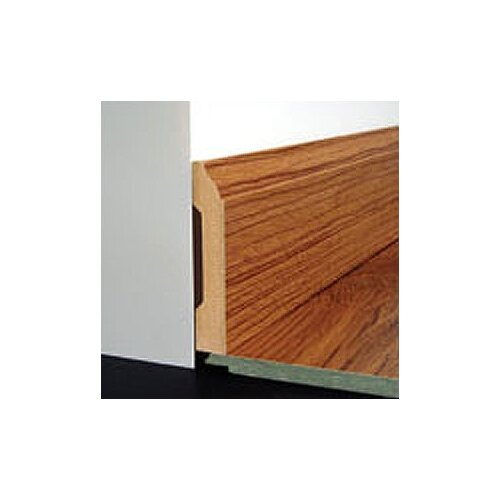 Bruce Flooring Laminate Wall Base Micro -Bevel Trim in Provincial Oak Blond, Merbau Antique