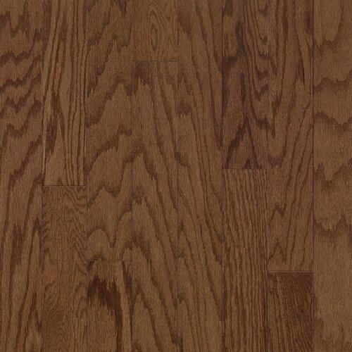 """Bruce Flooring Turlington 5"""" Engineered Oak Flooring in Saddle"""