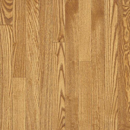 "Bruce Flooring Dundee Strip 2-1/4"" Solid White Oak Flooring in Seashell"