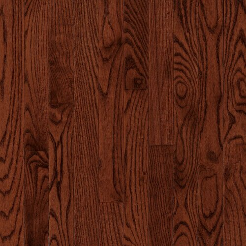 "Bruce Flooring Manchester Plank 3-1/4"" Solid Red Oak Flooring in Cherry"
